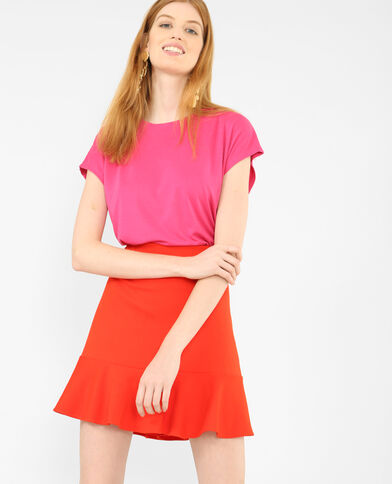 T-shirt morbida Rosa