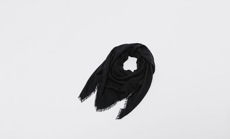 Sciarpa sottile nero