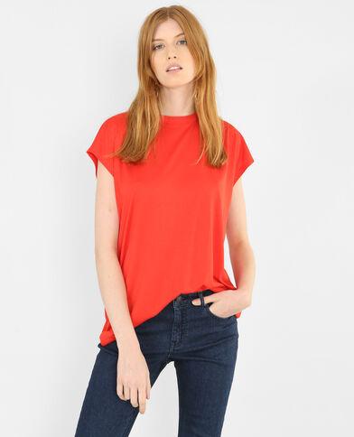 T-shirt morbida rosso