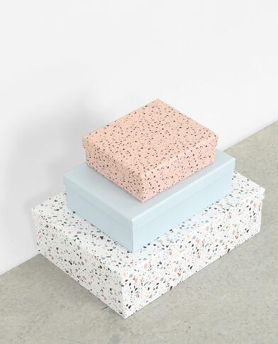 Lotto da 3 scatole graniglia blu