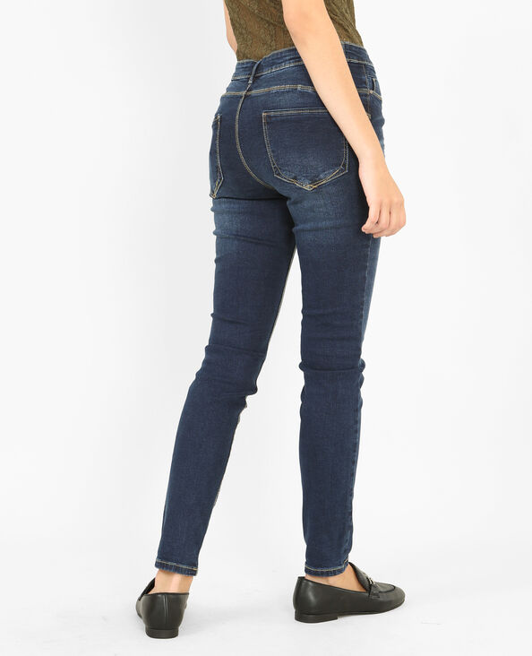 Jeans skinny push up blu