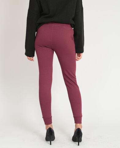 Pantalone da jogging bordeaux
