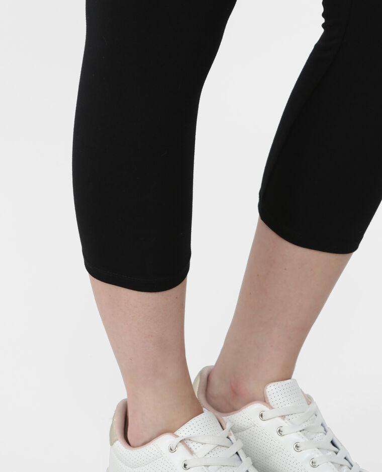 Leggings corto nero