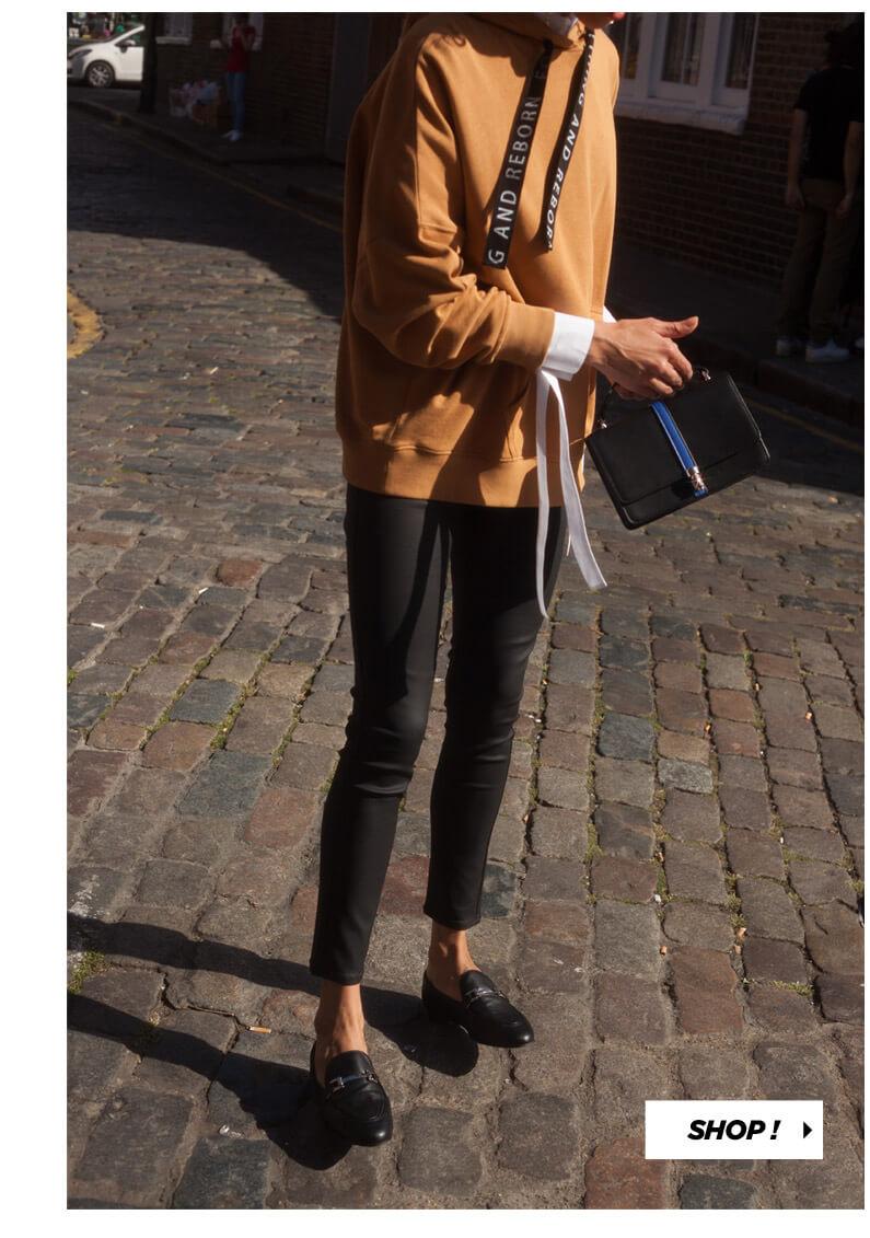 PIMKIE Chemise à message, Mini jupe à broderies