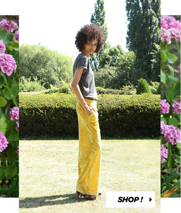 PIMKIE T-shirt Licence nirvana Sandali di ispirazione broccato