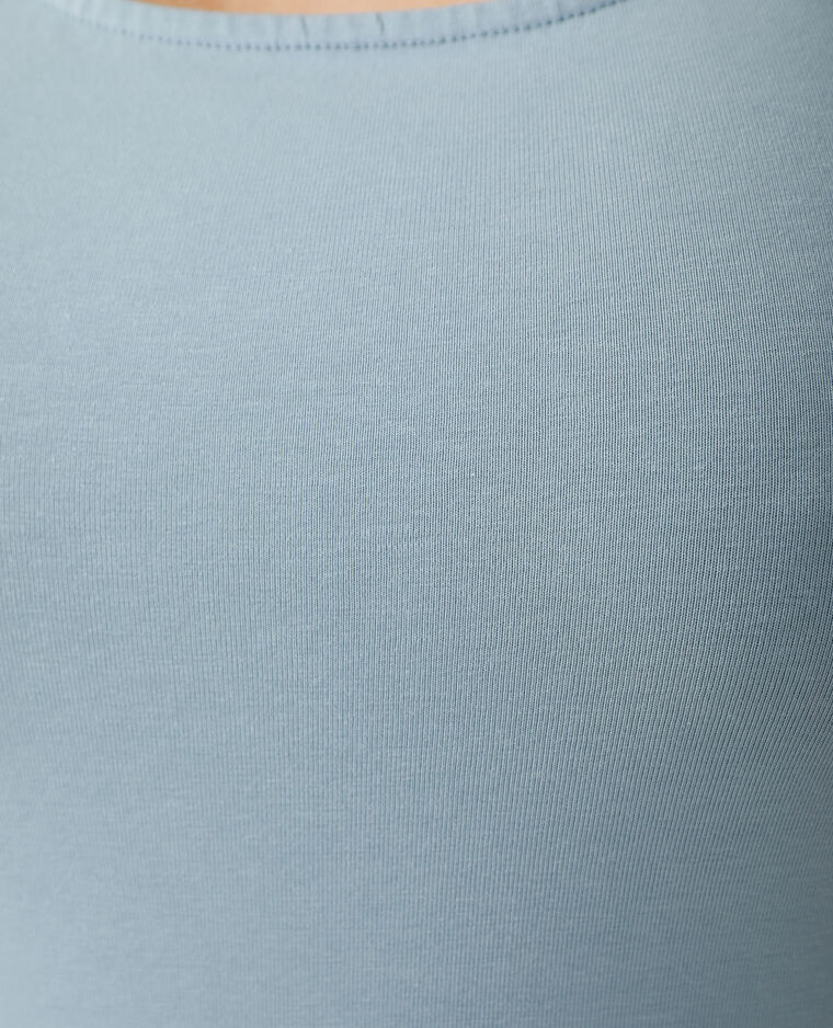 Canotta basic blu - Pimkie