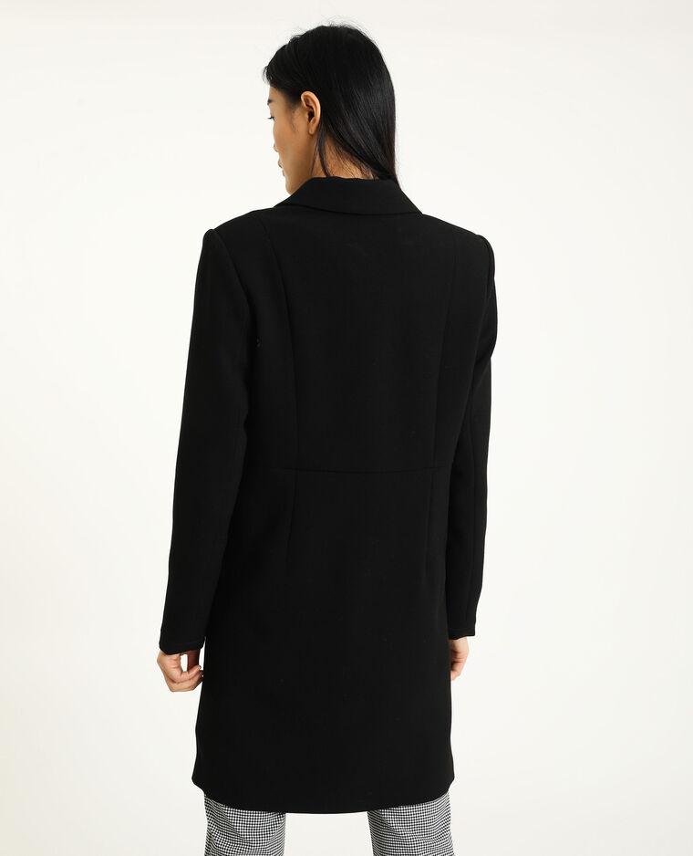 Cappotto blazer nero