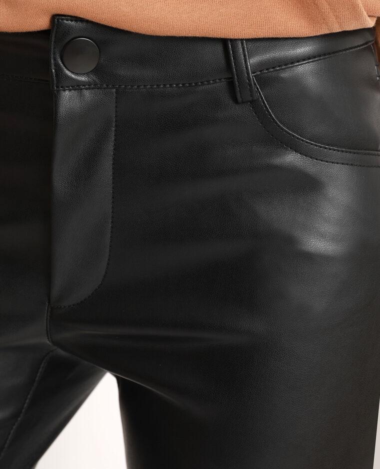 Pantalone in similpelle nero