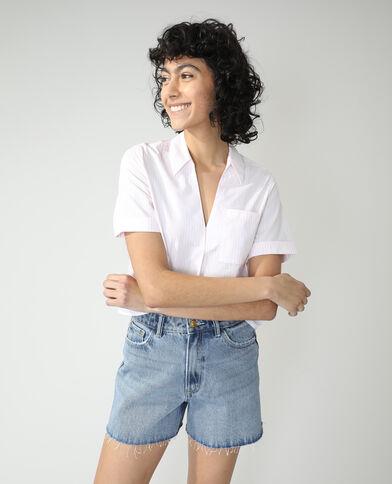 Camicia a righe bianco - Pimkie