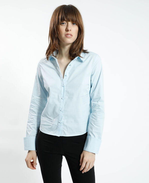 Camicia basic blu - Pimkie
