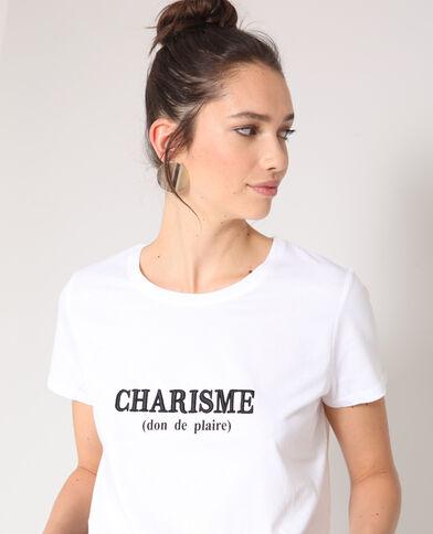 T-shirt carisma bianco