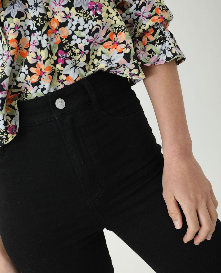 Jeans skinny push up mid waist nero - Pimkie