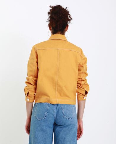 Giacca dritta giallo