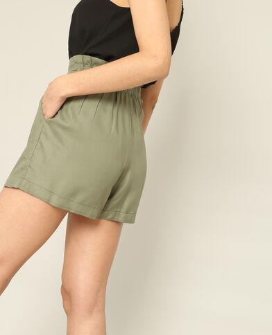 Short morbido verde