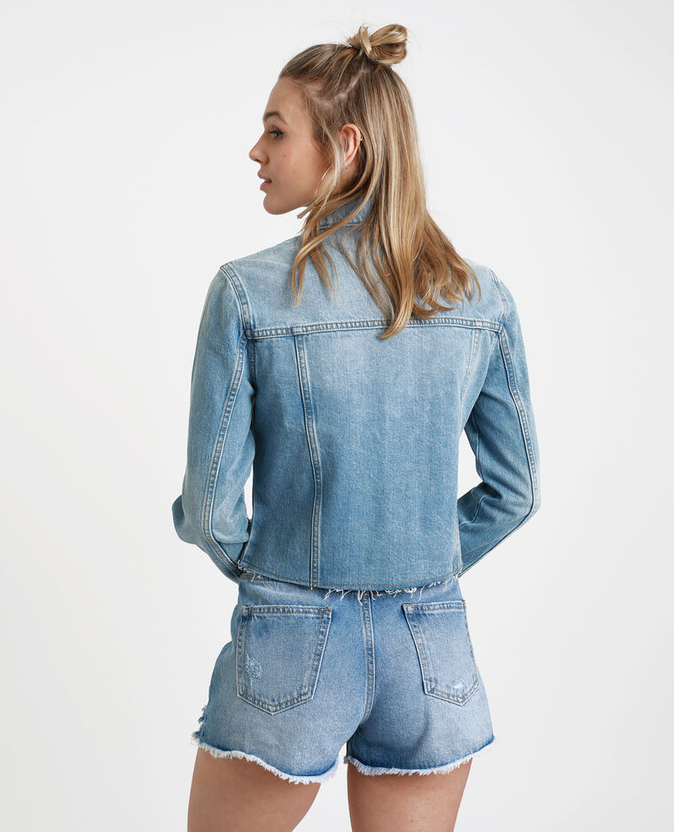 brand new a6ef2 04a17 Giacca in jeans corta