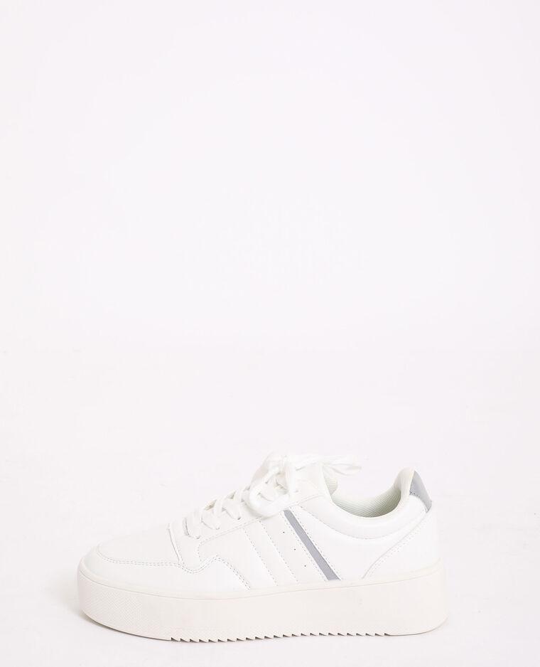 Scarpe da tennis spesse bianco