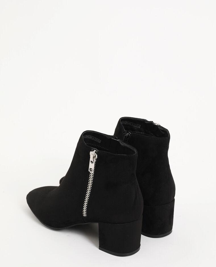 Boots punte arrotondate nero