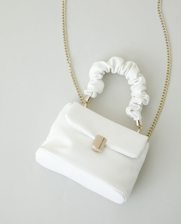 Mini borsa a mano bianco