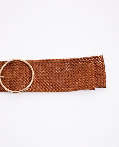 Cintura larga marrone