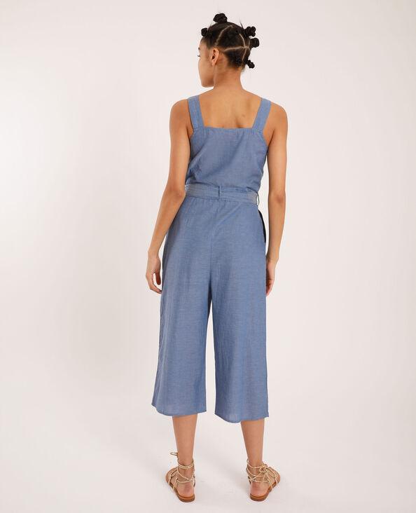 Abito pantalone 7/8 blu chiaro