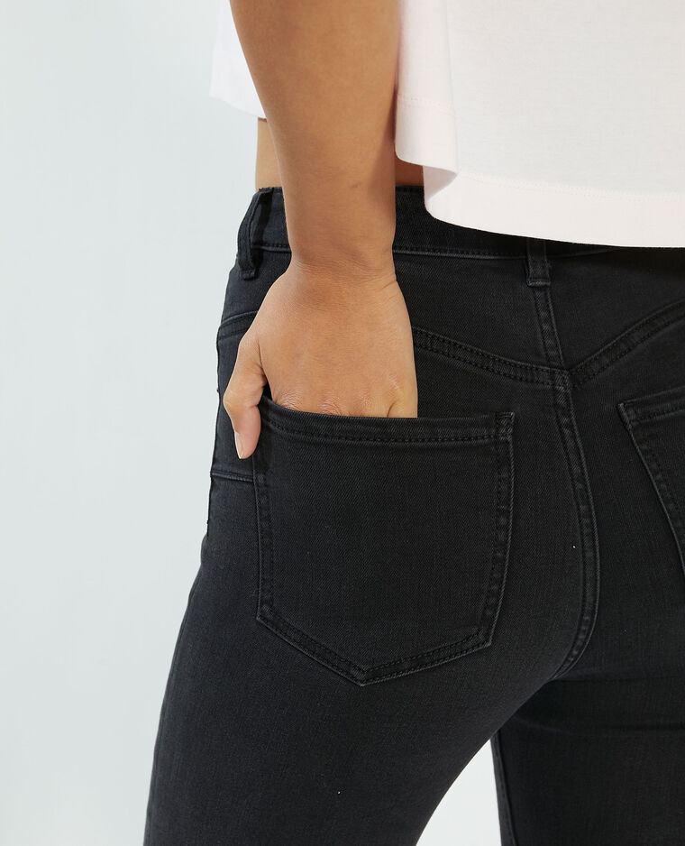 Jeans push-up high waist nero - Pimkie
