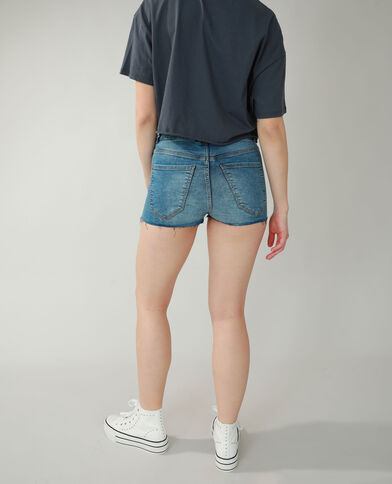 Short di jeans blu denim - Pimkie