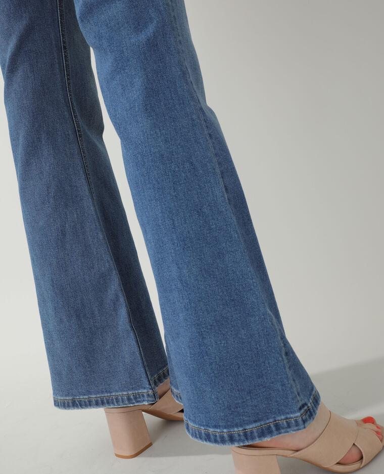 Jeans flare high waist blu denim - Pimkie