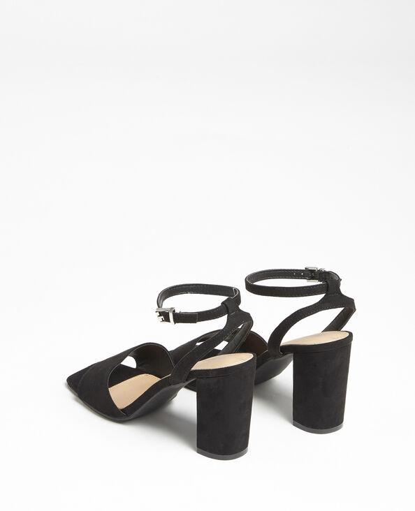 Sandali nabuk nero
