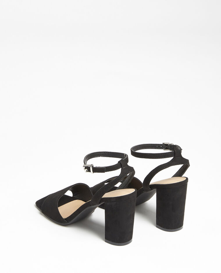 Sandali nabuk nero - Pimkie