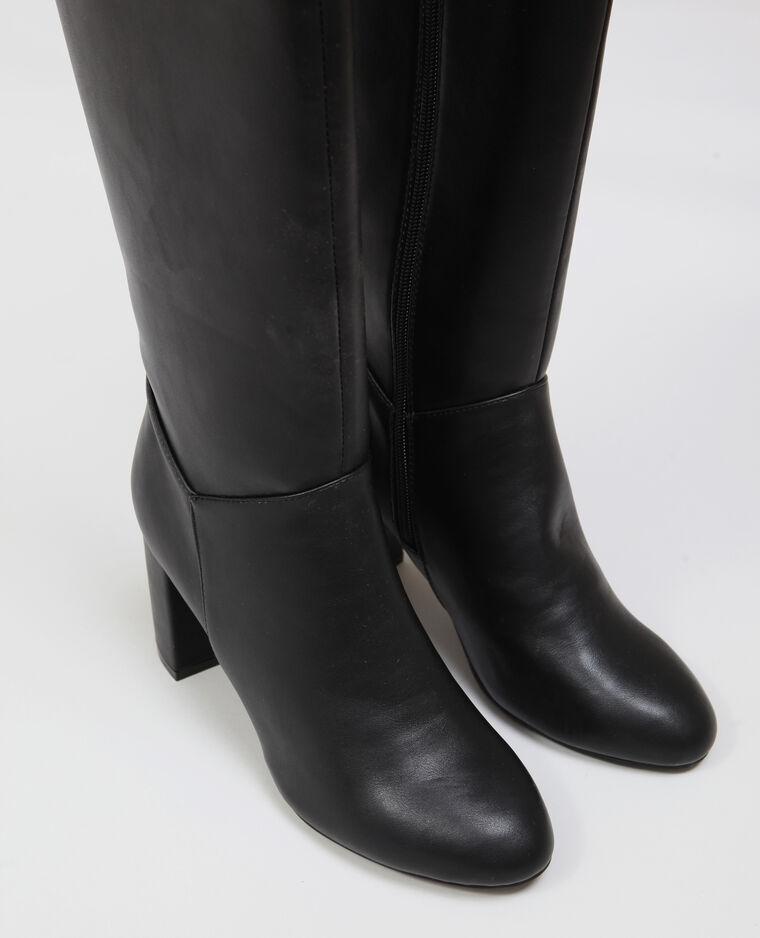 Stivali con i tacchi nero