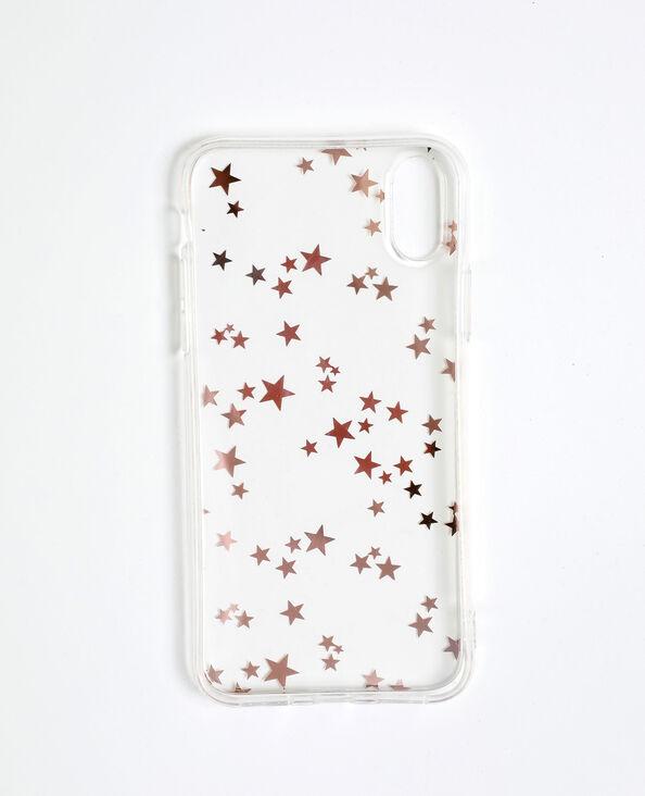 Custodia a stelle per iPhone X/XS dorato