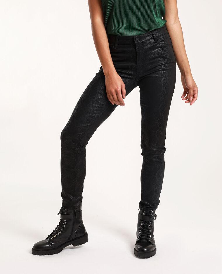 Pantalone pitone nero