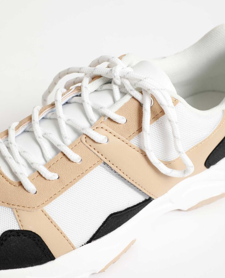 Scarpe da basket di ispirazione tennis nero