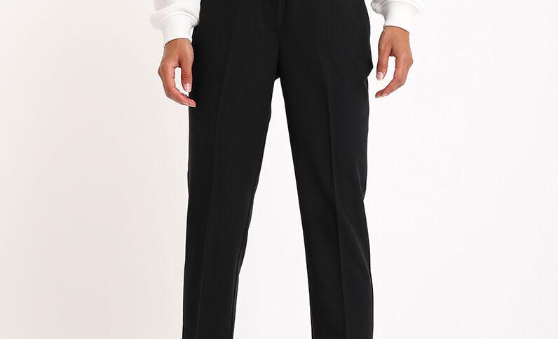 Pantalone dritto nero