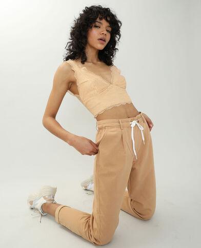 Pantalone chino cammello - Pimkie