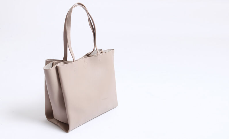 Borsa shopping beige