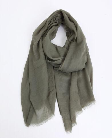Foulard leggero verde