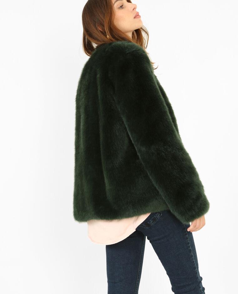 on sale 05f8f 098a1 Cappotto in pelliccia ecologica