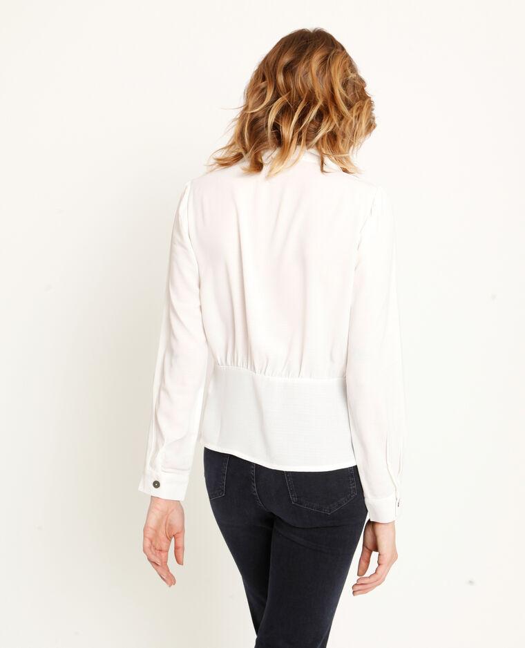 Camicia abbottonata bianco