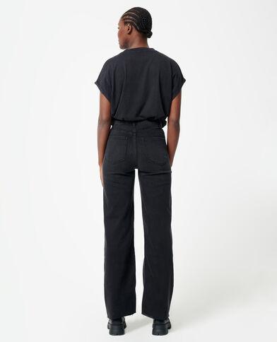 Jeans dritto nero - Pimkie