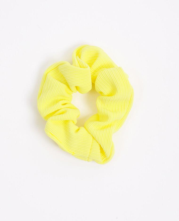 Elastico con texture giallo fluo