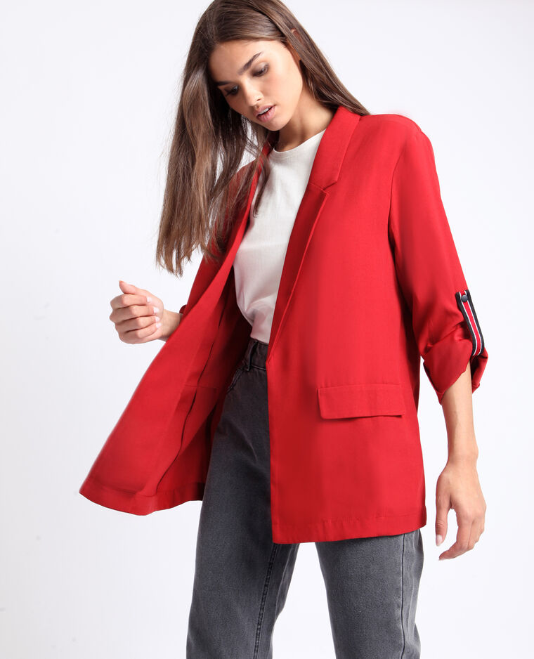 Blazer morbido ruggine