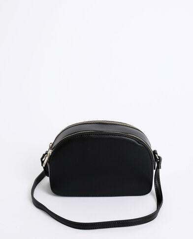 Piccola borsa con zip nero