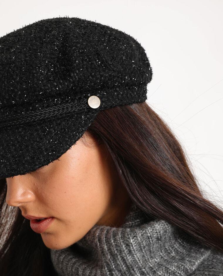 Cappellino blu marino nero
