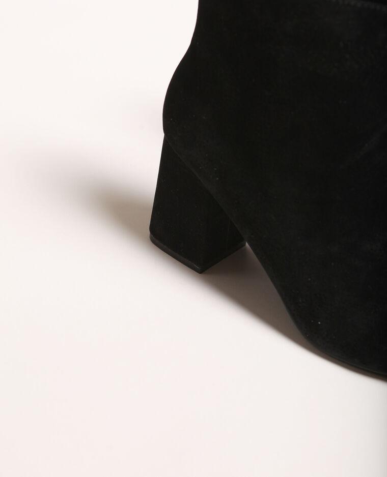 Stivaletti con i tacchi nero