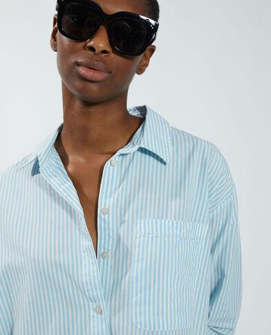 Camicia a righe blu - Pimkie