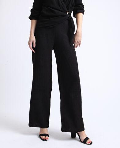 Pantalone largo nero