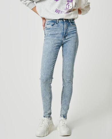Jeans skinny high waist blu chiaro - Pimkie