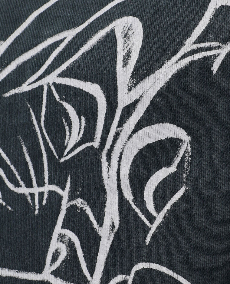 T-shirt cropped Il Re Leone grigio