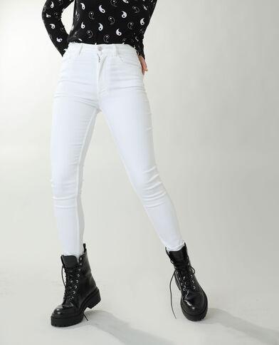 Jeans skinny high waist bianco - Pimkie